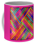 Diagonal Offset Coffee Mug