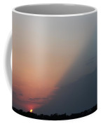 Diagonal Sunset Coffee Mug