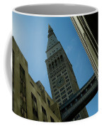 Diagonal View Of Pedestrian Bridge Coffee Mug