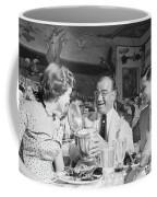 Diamond Jim Moran, Entertaining Guests At His Restaurant In New  Coffee Mug