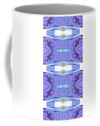 Diamonds Lilac Coffee Mug