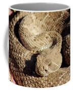 Diamondback Rattlesnake Close-up 062414a Coffee Mug