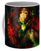 Dianas Blood Moon Coffee Mug