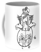 Diane A La Chasse Coffee Mug