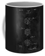 Dice Cube Patent Coffee Mug