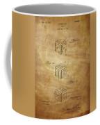 Dice Patent From 1923 Coffee Mug
