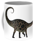Dicraeosaurus Side Profile Coffee Mug