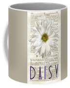 Dictionary Daisy Coffee Mug