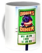 Digger's Diner Coffee Mug
