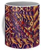 Digital Abstract 1 Coffee Mug
