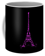 Digital-art Eiffel Tower Pink Coffee Mug