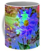 Digital Brush Abstract Coffee Mug