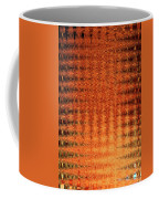 Digital Copper Plate Abstract Coffee Mug