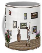 Digital Exhibition _ Dancing Girl  Coffee Mug