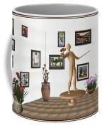 Digital Exhibition _ Guard Of The Exhibition 3 Coffee Mug