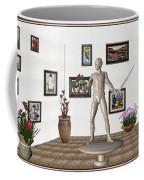 Digital Exhibition _ Guard Of The Exhibition1 Coffee Mug