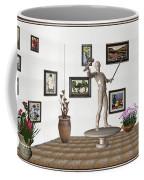 Digital Exhibition _ Guard Of The Exhibition2 Coffee Mug