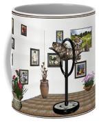 digital exhibition _ Statue  of fish  12 Coffee Mug