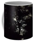 Digital Fine Art Work Full Moon Trees Gulf Coast Florida Coffee Mug by G Linsenmayer