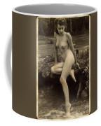 Digital Ode To Vintage Nude By Mb Coffee Mug