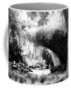Digital Paint Black White Landscape Louisiana  Coffee Mug
