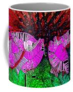 Digital Pink Echinacea  Coffee Mug