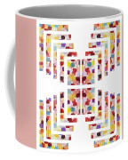 Digital Splits Coffee Mug by Catherine Lott