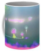 Digital Sunrise Coffee Mug