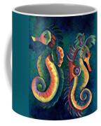 Digital Water Horse 2 Coffee Mug
