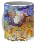 Digital_blue And Orange Orgasm Coffee Mug