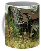 Dilapidated Barn Morgan County Kentucky Coffee Mug