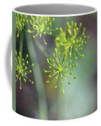 Dill Abstract On Mint Green And Plum Coffee Mug