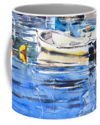 Dinghies At High Tide Coffee Mug
