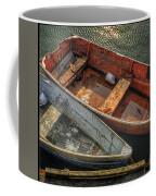 Dinghies At Rockport Coffee Mug