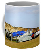Dinghy Park At Freshwater Bay Coffee Mug
