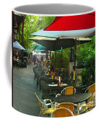 Dining Under The Umbrellas Coffee Mug