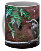 Dinner Time For Mister Bird Coffee Mug