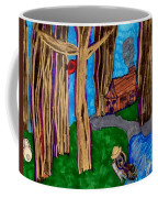 Dinner In The Woods Coffee Mug