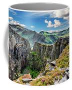 Dinorwic Slate Quarry Snowdon Coffee Mug