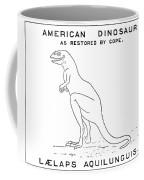 Dinosaur: Dryptosaurus Coffee Mug