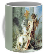 Diomedes Devoured By His Horses Watercolour Gustave Moreau Coffee Mug