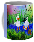 Dipping Duckies - Furry Forest Friends Mural Coffee Mug