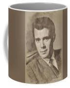 Dirk Bogarde, Vintage Actor By John Springfield Coffee Mug