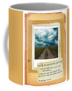 Dirt Road With Scripture Verse Coffee Mug
