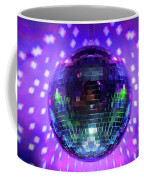Disco Ball Purple Coffee Mug