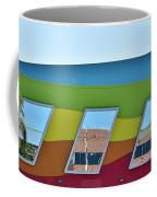 Discovery Science Center Window Reflection Coffee Mug
