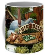 Disneyland Chip And Dale Signage Coffee Mug