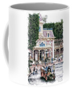 Disneyland Fire Truck Pa 03 Vertical Coffee Mug