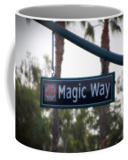 Disneyland Magic Way Street Signage Coffee Mug