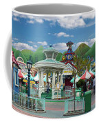 Disneyland Toontown Young Man Proposing To His Lady Panorama Coffee Mug